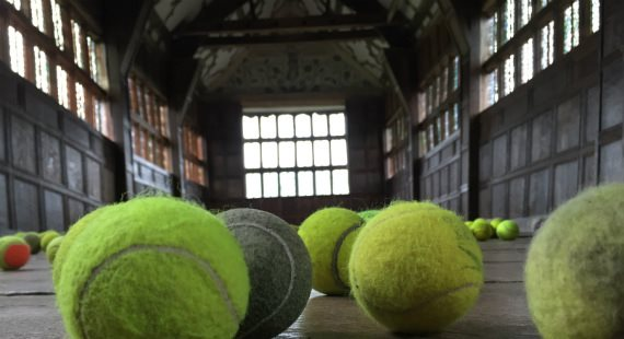 Tennis Balls, Hilary Jack, Little Moreton Hall
