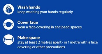 Wash Hands, Cover Face, Make Space