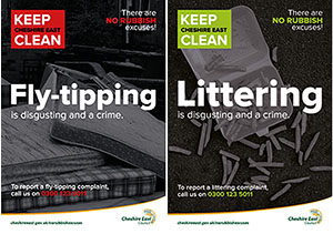 CEC fly tipping posters