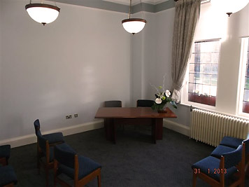 Ceremony Room in Municipal buildings Crewe
