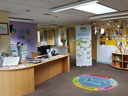 monks Coppenhall Children's Centre interior view