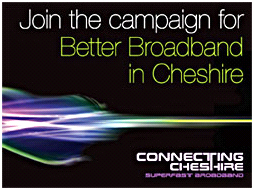 Join the campaign for better broadband in Cheshire