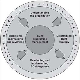Business Continuity Process lifecycle