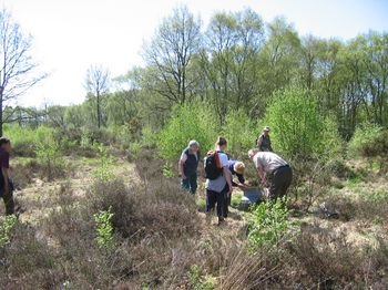 Carrying out activities to benefit nature conservation