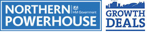 Northern Powerhouse and Growth Deals logos