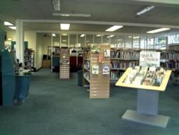 Bollington Library Interior