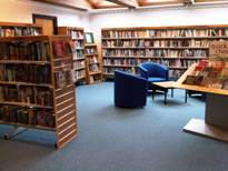 Disley Library Interior