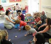 The Brooks Childrens Centre Mini Crawlers