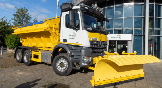 08/11/2019 Cheshire East Council's highways teams are geared up for winter