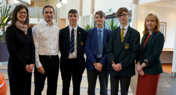 20/03/2018 - Mindset4Success event provides support for boys across Cheshire East