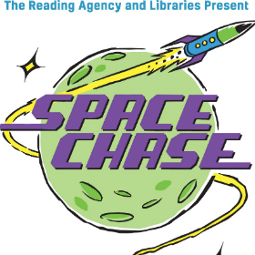 Space Chase illustrated logo 280 x 280