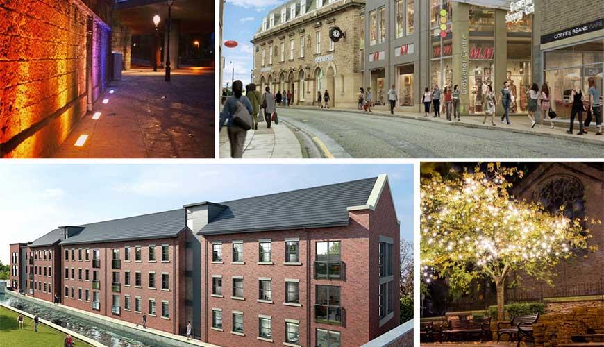 Macclesfield town centre revitalisation