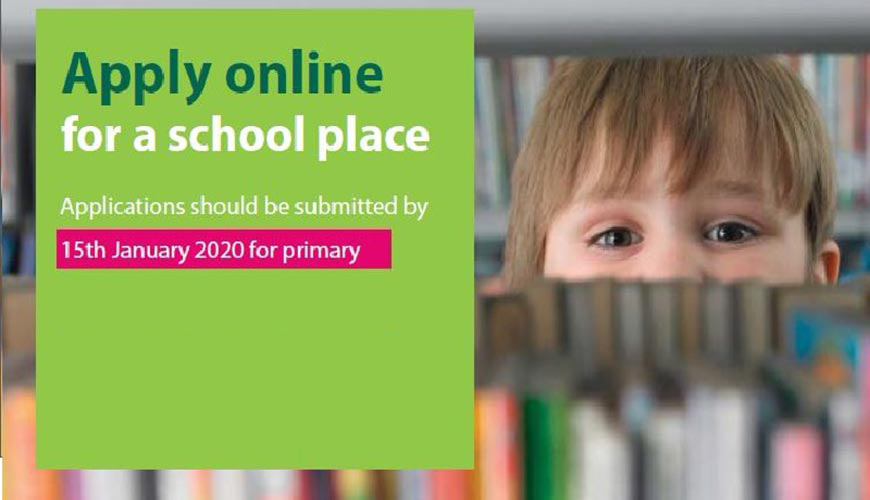 Apply Online for a school place