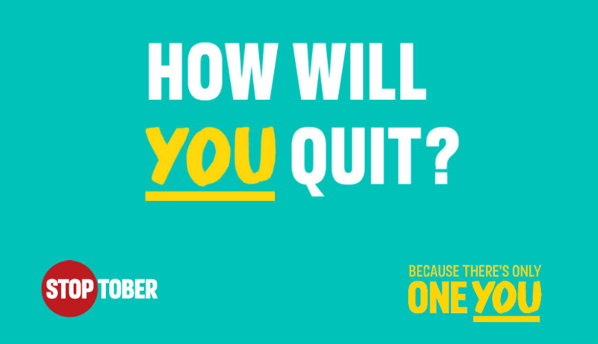 How will you quit this Stoptober