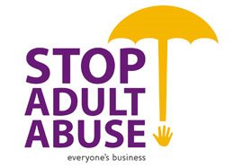 Adult abuse - help to stop it.